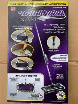 Swivel Sweeper MAX Rechargeable Cordless Floor Sweeper vacuu