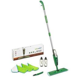 Homevative Microfiber Spray Mop Kit /w 3 pads, 2 bottles, an