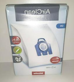 Miele 10123210 AirClean 3D Efficiency Dust Bag, Type GN, 4 B