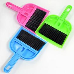 Mini Broom Dustpan Brush Set Soft Cleaning Sweeper Hand Kitc