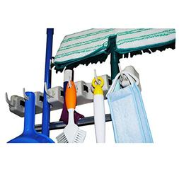 Mop and Broom Holder From Cartin Green, Wall Mount Organizer
