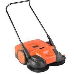 "NEW! Haaga® 31"" Deluxe Triple Brush Push Power Sweeper!!"