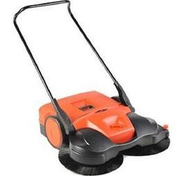 """NEW! Haaga® 38"""" Battery powered Triple Brush Push Power Swe"""