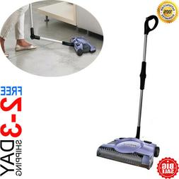 """NEW Swivel Rechargeable Floor Carpet Sweeper 12"""" Cordless St"""