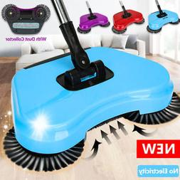 household hand push sweeping broom 360 rotary