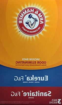 Arm & Hammer Odor Eliminating Vacuum Bags, Eureka F & G, 3 p