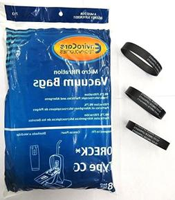 Oreck Vacuum Cleaner Bags To Fit Style CC, and all XL Uprigh