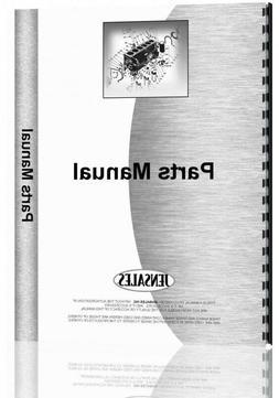 Parts Manual John Deere 26H 26T 31S 31T 38T Lawn Sweeper PC1