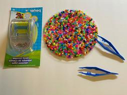 PERLER BEAD SWEEPER TOOL EASY CLEAN UP & 2000~FUSE BEADS~2~P