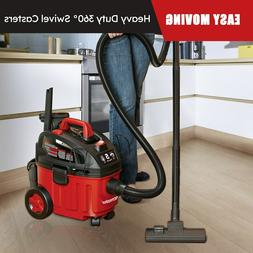 Portable Car Vacuum Cleaner 5Peak HP 4 Gal Wet Dry Shop Vac