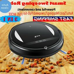 pro smart robot vacuum cleaner automatic sweeper