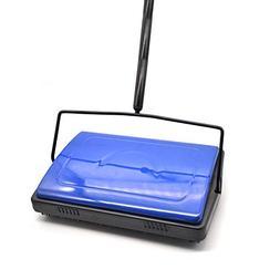 EZ SPARES Quiet Carpet Sweeper, Floor Sweeperwith Horsehai