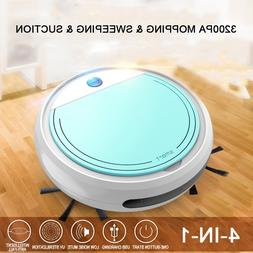 Rechargeable Smart Vacuum Cleaners Robot 4 in 1 3200pa USB A