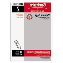 Electrolux Eureka 63881A10 Sanitaire Style Z Vacuum Bag 5/Pa