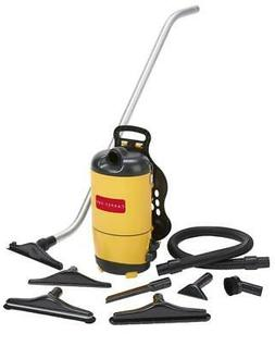 scbp1 backpack commercial yellow vacuum cleaner