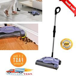 "Shark Swivel Rechargeable Floor Carpet Sweeper 12"" Cordless"