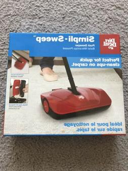 Dirt Devil Simpli-Sweep Push Sweeper New In Box