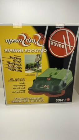 Hoover Commercial Spinsweep Pro Outdoor Sweeper, L1400 New