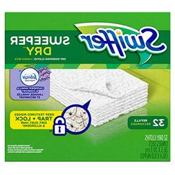 Swiffer Sweeper Dry Sweeping Pad Refills with Febreze Lavend