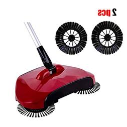 Sweeper, 360 Rotary Household Cleaning Hand Push Sweeper Bro
