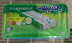 Swiffer Sweeper Wet Mopping Cloths 24 Pads lavender vanilla
