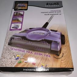 "Shark Swivel Rechargeable Floor Carpet Sweeper 12"" Cordless"