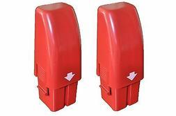 Two Swivel Sweeper G1 G2 NiMH Hi Capacity Efficiency Red Col