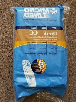 ORECK TYPE CC VACUUM vaccum sweeper CLEANER BAGS XL XL2 XL21
